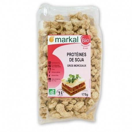 MARKAL Protéines de Soja Gros 175g-Markal