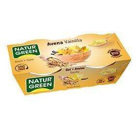 NATURGREEN Dessert Avoine-Vanille 2x125g Bio - Naturgreen