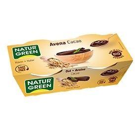 NATURGREEN Dessert Avoine-Cacao 2x125g Bio - NaturGreen