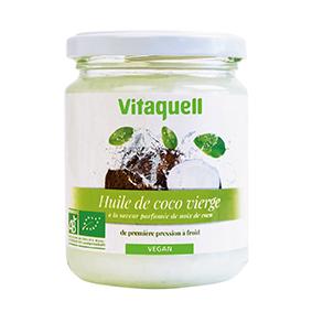 VITAQUELL Huile de Coco 200g Bio - Vitaquell
