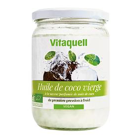 VITAQUELL Huile de Coco 400g Bio - Vitaquell