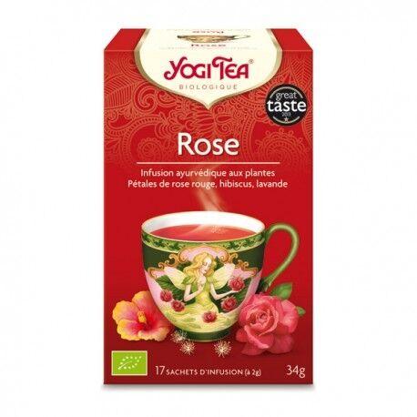 YOGI TEA Rose - 17 infusettes - Yogi Tea