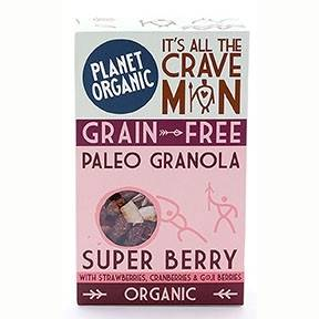 Lechoppebio Paleogranola Super Berry 350g Bio - Planet Organic