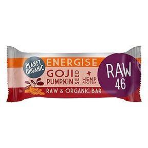 Les Délices De Sarah Barre Energétique Goji-Courge 30g Bio - Planet Organic