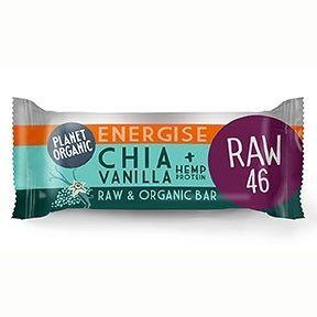 Les Délices De Sarah Barre Energétique Chia-Vanille 30g Bio - Planet Organic