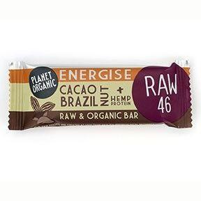 Lechoppebio Barre Energétique Noix du Brésil-Cacao 30g Bio - Planet Organic