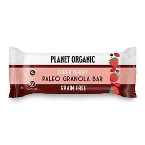 Les Délices De Sarah Barre Paléogranola Super Berry 30g Bio - Planet Organic