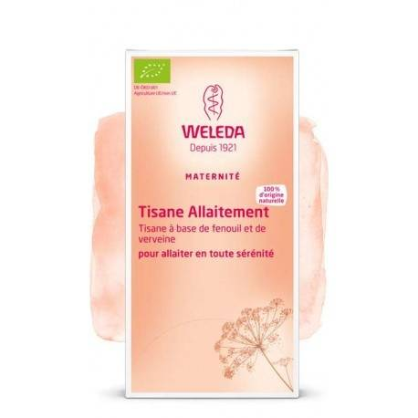 WELEDA Tisane Allaitement Fenouil et Verveine - 20 sachets - WELEDA