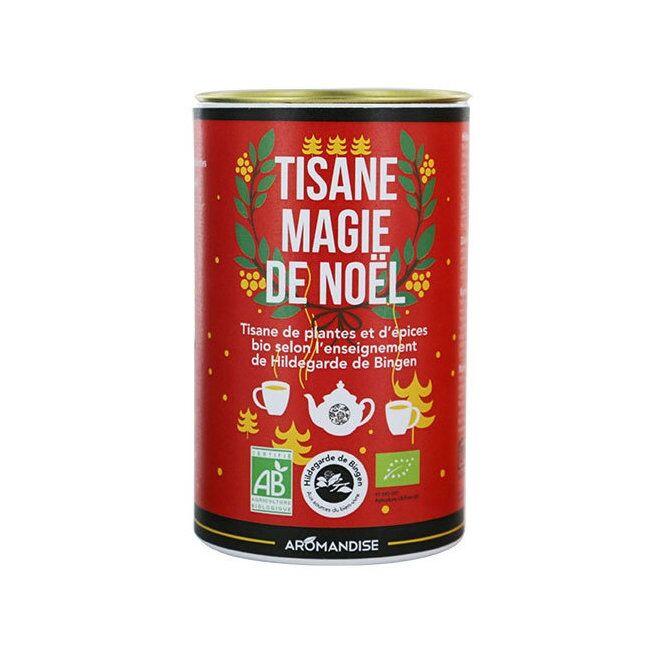 AROMANDISE HILDEGARDE DE BINGEN - Tisane bio Magie de Noël en vrac - Boîte...