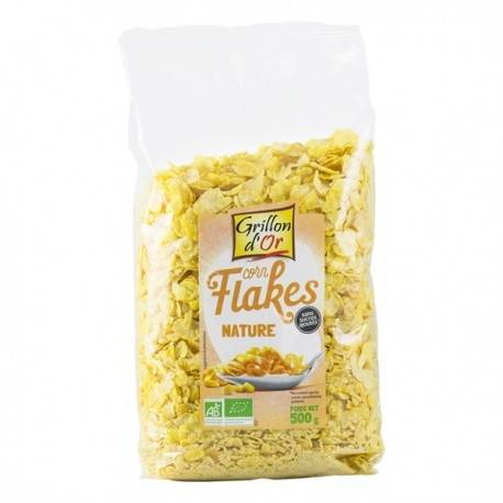 GRILLON D'OR Corn Flakes Nature - 500gr - Grillon d'Or