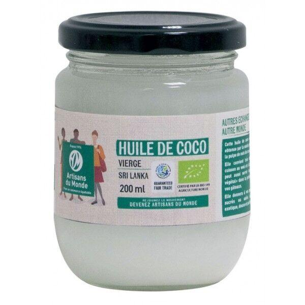 Artisans Du Monde Huile de coco vierge bio 200ml