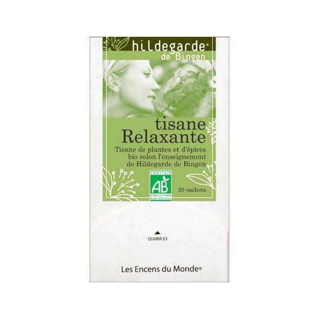 ENCENS DU MONDE HILDEGARDE DE BINGEN - Tisane Bio Relaxante 20 sachets