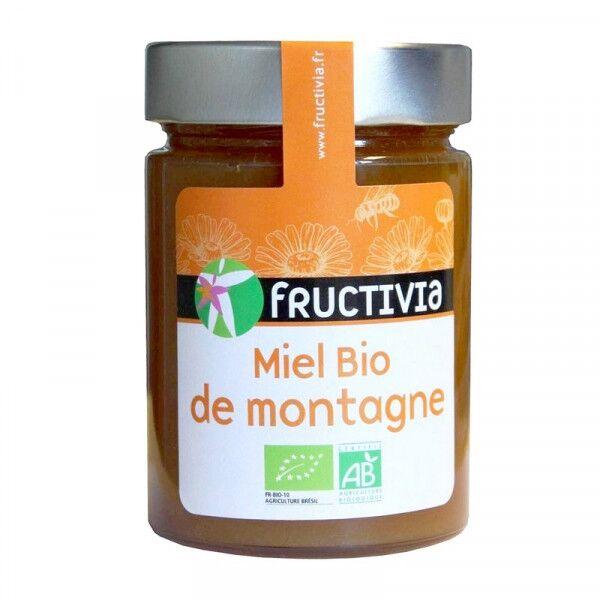 FRUCTIVIA Miel Bio de montagne - 450 g