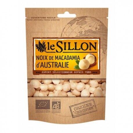 LE SILLON Noix de Macadamia d'Australie 125g-Le Sillon
