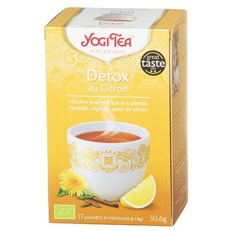 YOGI TEA Detox au Citron - 30.6g - Yogi Tea