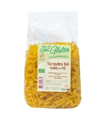 MA VIE SANS GLUTEN Torsades maïs riz bio & sans gluten