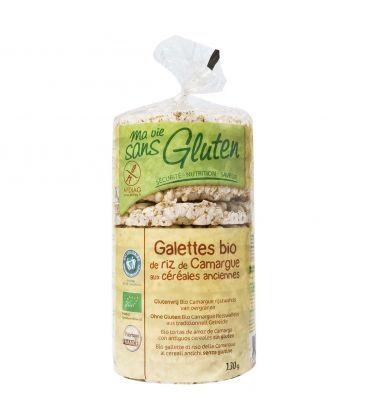 MA VIE SANS GLUTEN Galettes de riz de Camargue aux céréales anciennes bio & sans gluten