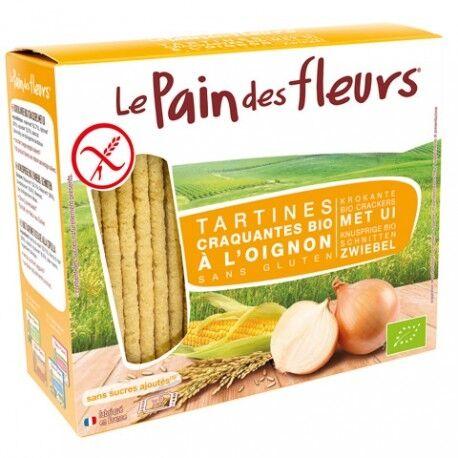 LE PAIN DES FLEURS Tartines craquantes à l'oignon sans gluten bio