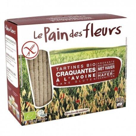 LE PAIN DES FLEURS Tartines Craquantes Bio à l'Avoine 150g-Le Pain des Fleurs