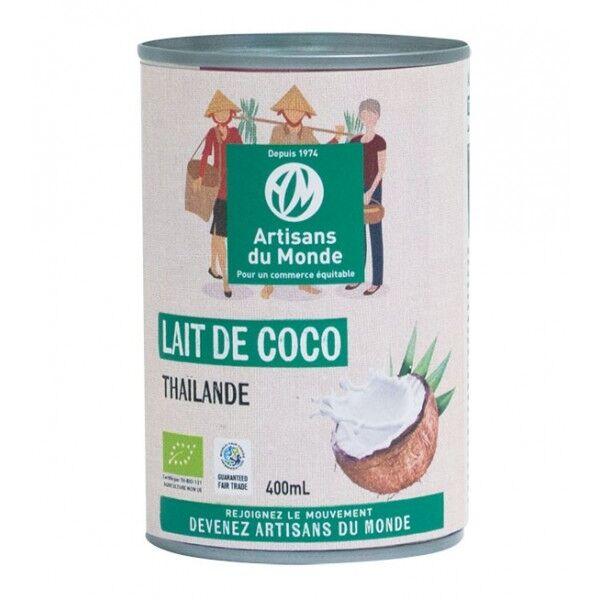 ARTISANS DU MONDE Lait de coco bio et équitable - 400 ml
