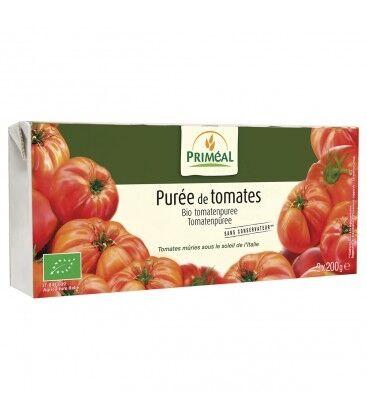 PRIMÉAL Purée de tomates bio