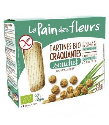 LE PAIN DES FLEURS Tartines craquantes au souchet sans gluten bio