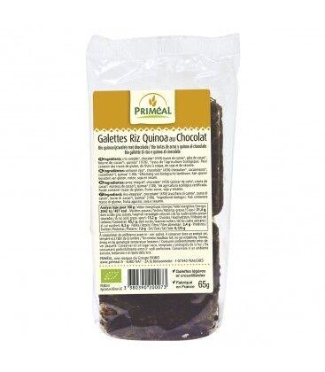 PRIMÉAL Galettes de Riz Quinoa au Chocolat noir bio