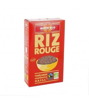 ALTER ECO Riz Rouge (variété Khao Daeng) riz long complet bio et équitable