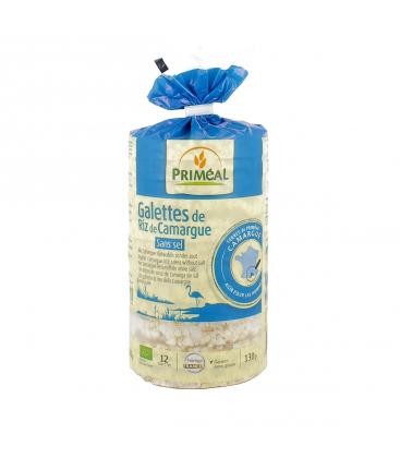 PRIMÉAL Galettes de Riz de Camargue sans sel, bio & sans gluten