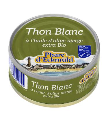 Nos Meilleures Courses Thon blanc à l'huile d'olive vierge extra bio