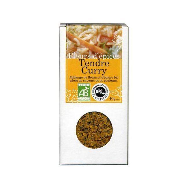 ENCENS DU MONDE HILDEGARDE DE BINGEN - Fleurs d'épices bio Tendre Curry pour la...