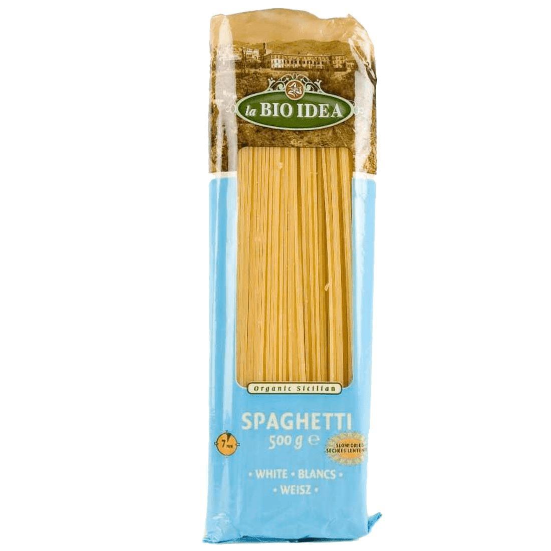 Les Délices De Sarah Pâte spaghetti blanche 500g--la bio idea