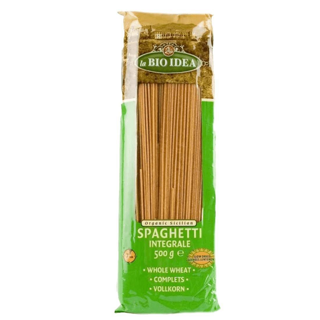 Les Délices De Sarah Pâte spaghetti complète 500g--la bio idea