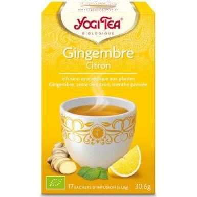 YOGI TEA Gingembre Citron - Yogi Tea