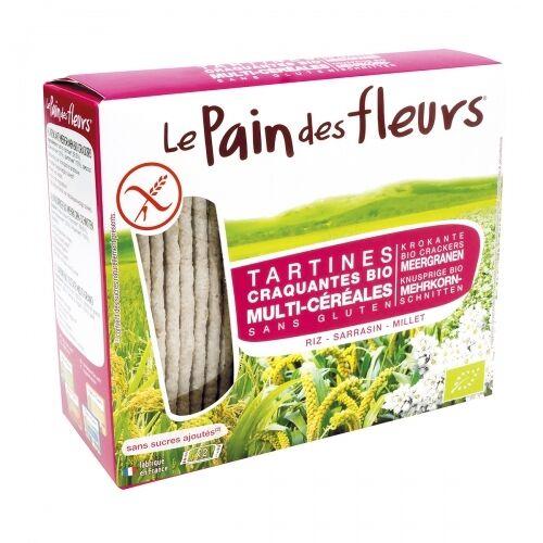 LE PAIN DES FLEURS Tartines craquantes multi-céréales sans...