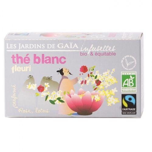 JARDINS DE GAÏA Thé Blanc Fleuri bio & équitable