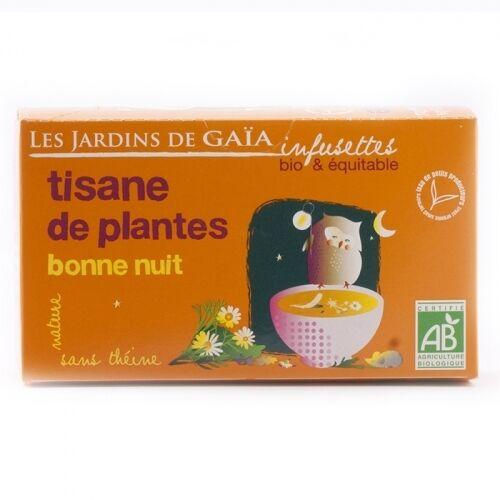 JARDINS DE GAÏA Tisane de plantes bonne nuit bio