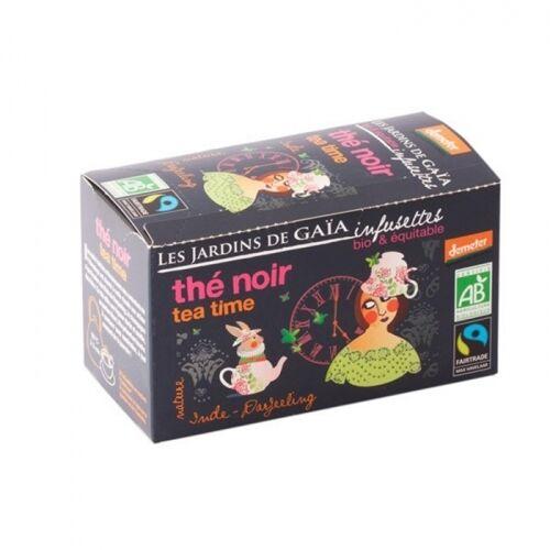 JARDINS DE GAÏA Thé Noir Tea Time bio (demeter) & équitable