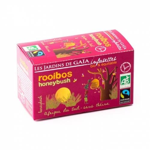 JARDINS DE GAÏA Rooibos honeybush bio & équitable