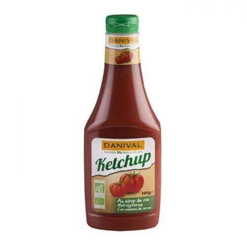 DANIVAL - Ketchup au sirop de riz bio