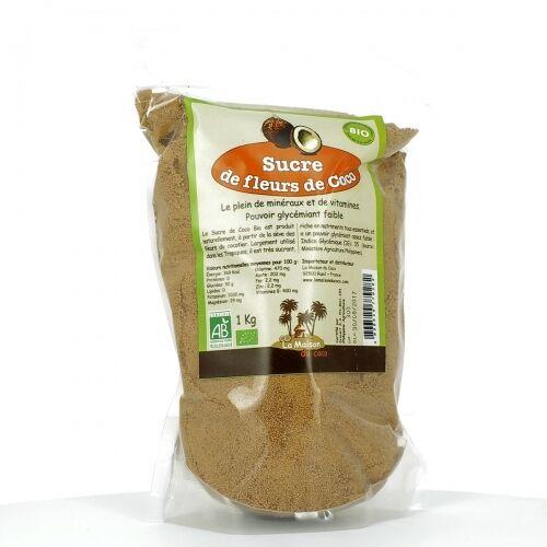 LA MAISON DU COCO Sucre de fleurs de Coco bio - 1 kg