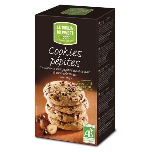 LE MOULIN DU PIVERT Cookies aux pépites de chocolat et aux...
