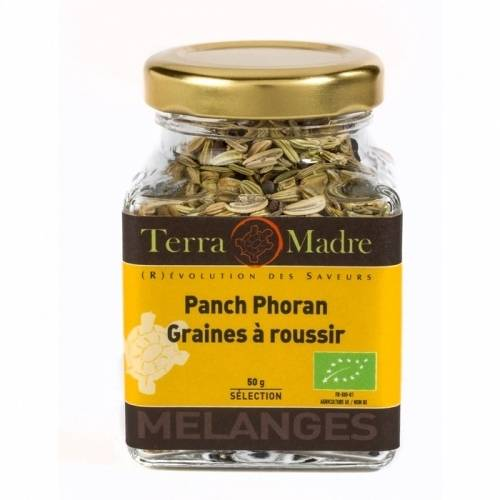 TERRA MADRE Mélange d'épices bio Panch Phoran