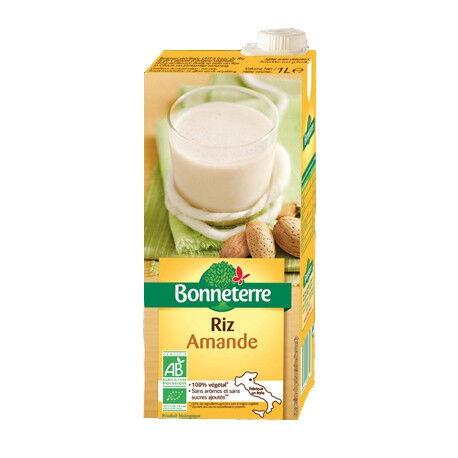 BONNETERRE Boisson végétale au Riz Amande 1L-Bonneterre