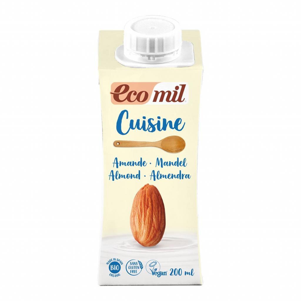 ECOMIL Crème Cuisine aux Amandes 200ml Bio - Ecomil