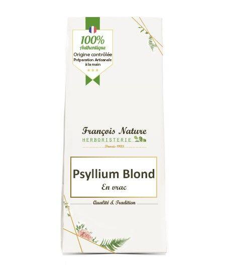 François Nature Psyllium blond tégument BIO 95% vrac100 g.