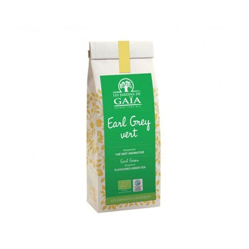 JARDINS DE GAÏA Thé Earl Grey vert bio & équitable