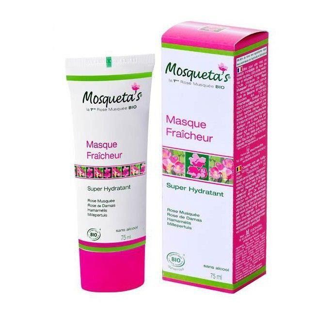 ECOCERT MOSQUETA'S - Masque super hydratant bio à la rose musquée 75ml