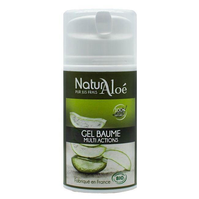 ECOCERT NATURALOE - Gel baume d'Aloe vera bio 50ml
