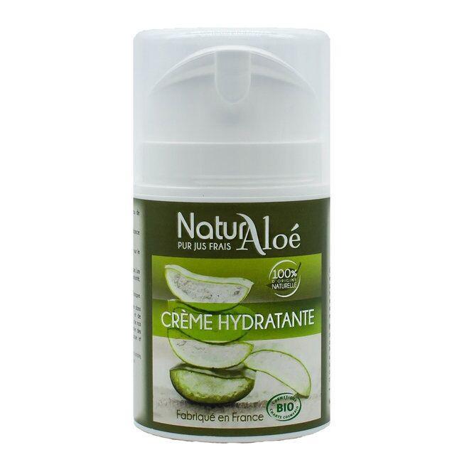 ECOCERT NATURALOE - Crème hydratante visage bio à l'Aloe vera 50ml